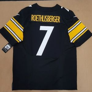 Nike Roethlisberger Steelers Jersey Men's Size 48
